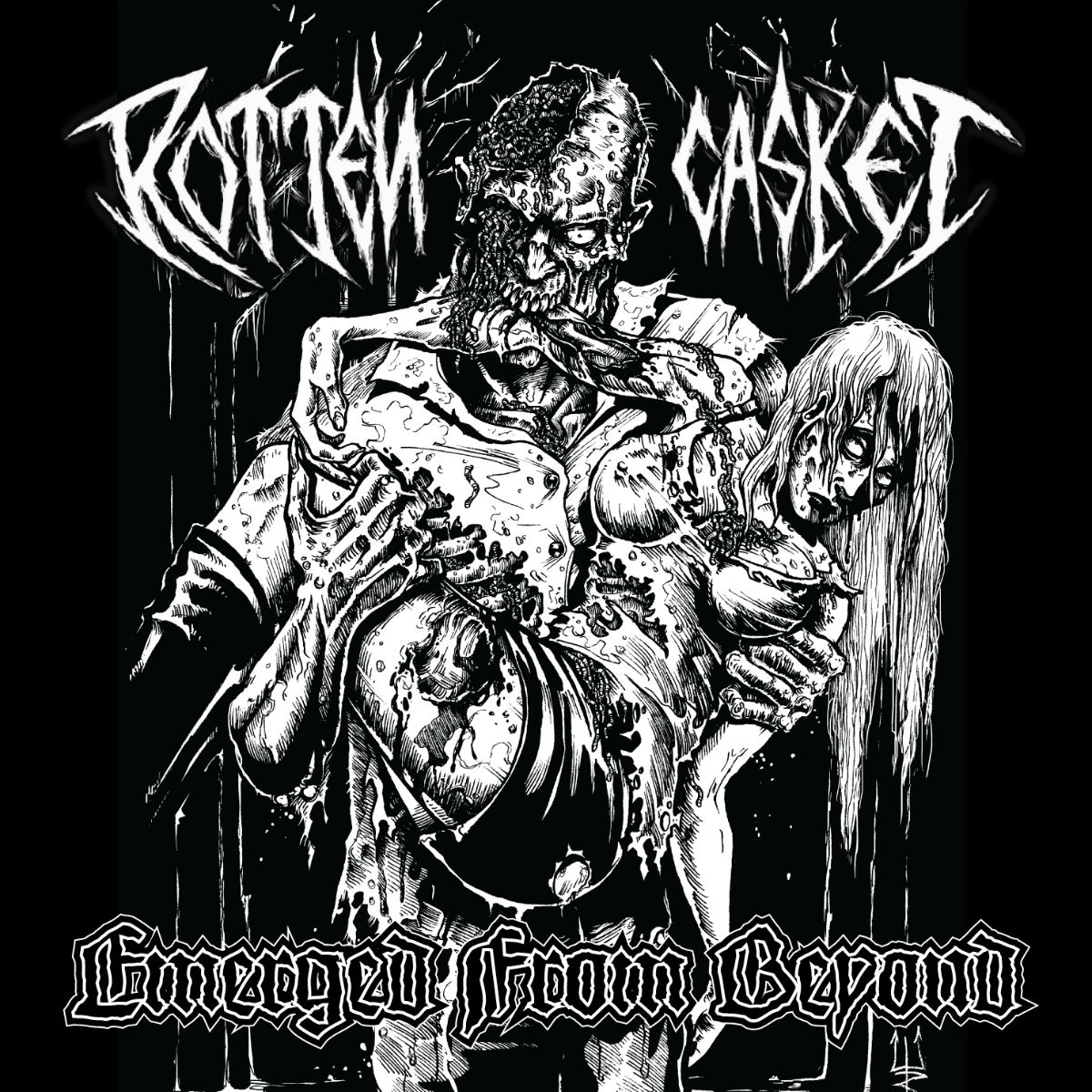 rotten casket – emerged from beyond